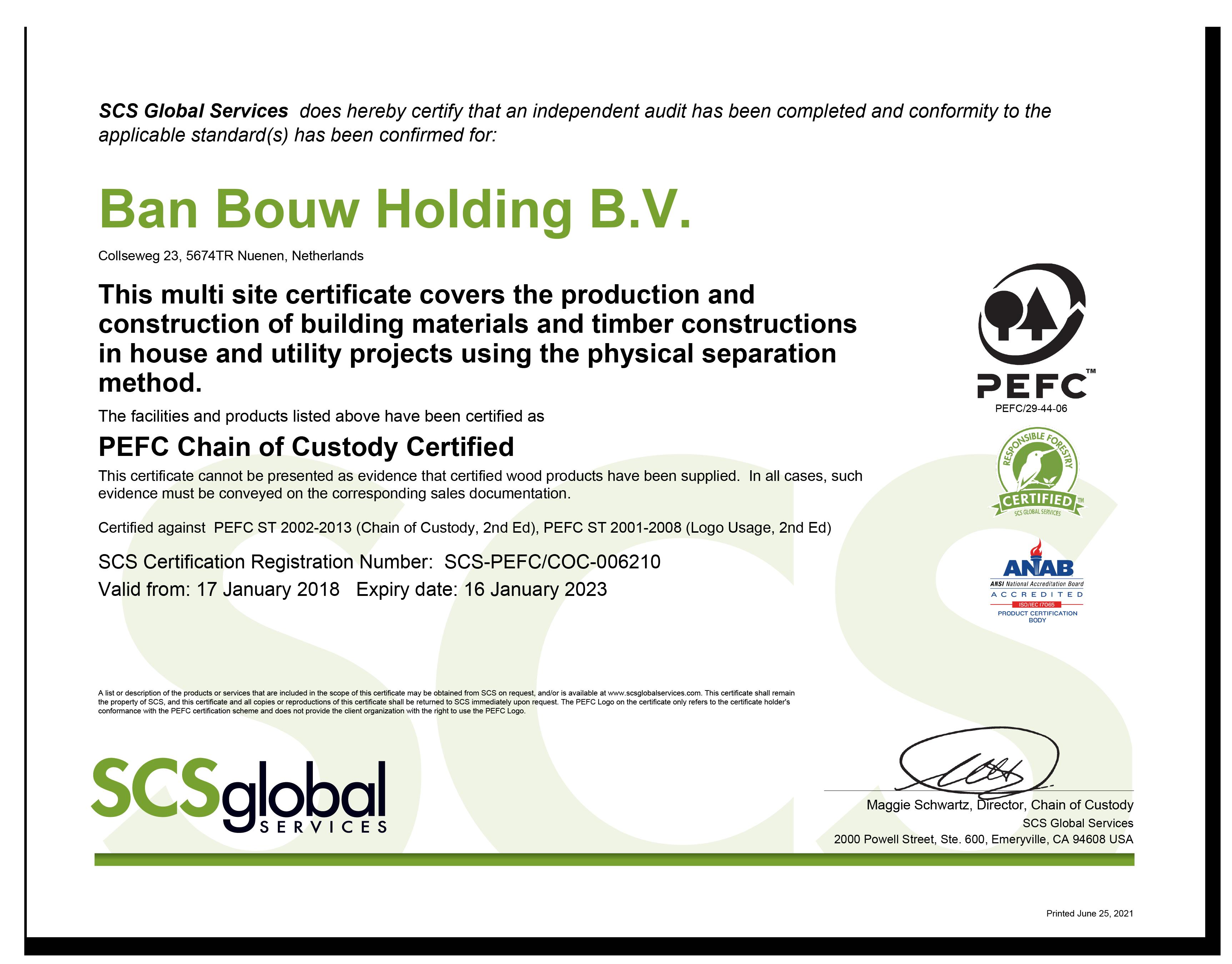 pefc-certificaat-arcon-houtconstructies